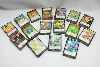 750+ Neopet Trading Cards Holo Graphic and Shinny Cards throughout the lot
