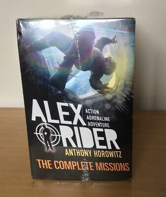 ***Alex Rider Complete Collection - Anthony Horowitz - 10 Books Boxed Set***