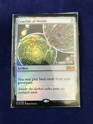 MTG Sealed Prerelease Foil Crucible of Worlds Core Set 2019 x1