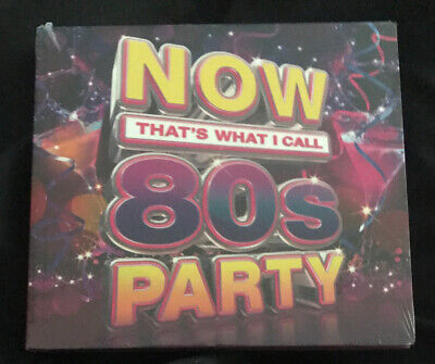 NOW THATS WHAT I CALL 80s PARTY (3CD 2017) NEW & SEALED