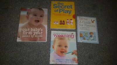 Baby and pregnancy Books Assortment X 3 Books