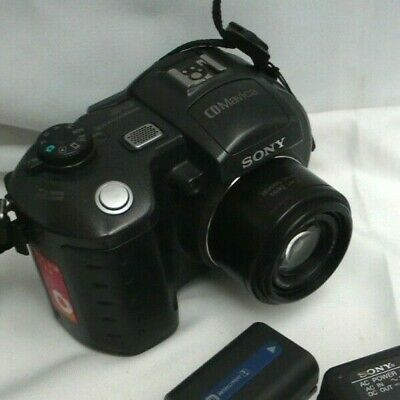 Sony Mavica MVC CD500 5.0MP Digital Camera - Black with Battery and charger