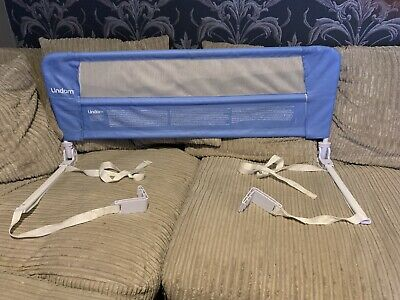 Lindam Easy Fit Folding Bed Guard - Blue