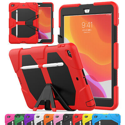 Shockproof Rugged Case For Apple iPad 7th Gen 10.2 2019 With Screen Protector