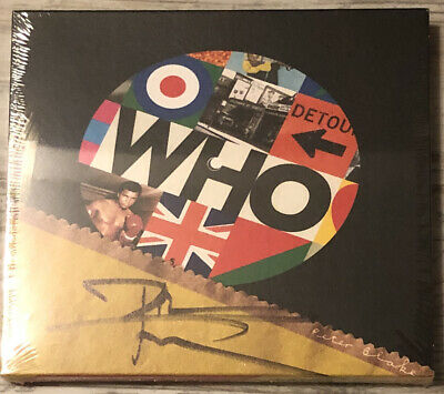 THE WHO Who SIGNED CD Autographed By Pete Townsend BRAND NEW Sealed