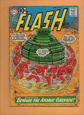 Flash #122 DC Comics 1961 1st appearance of the Top! VG-