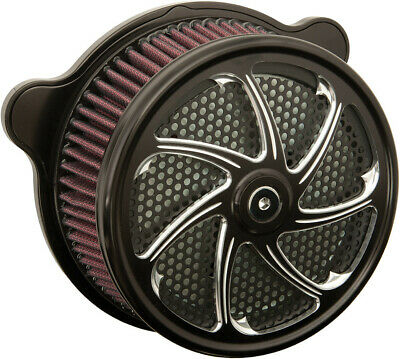 HardDrive Custom Black Flow Performance Air Cleaner Assembly F2121A-ACTBW