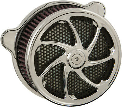 HardDrive Custom Chrome Flow Performance Air Cleaner Assembly F2121C-ACTBW