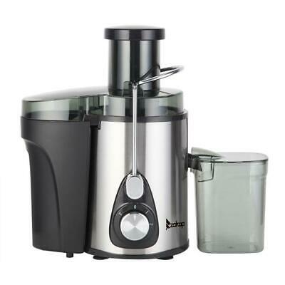 ZOKOP 600W Double Gear Electric Juicer with 600ML Juice Cup 1000ML Slag Cup J02
