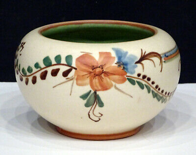 Vintage WELLER POTTERY 1920's BONITO Artist Signed ARTS CRAFTS Hand Painted Pot