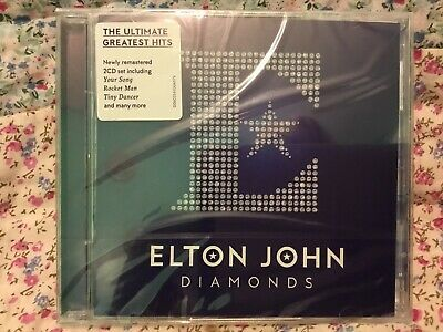 Elton John Diamonds 2 Cd (Greatest Hits/Best Of) New & Sealed
