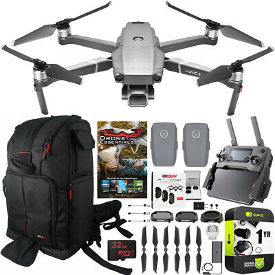 DJI Mavic 2 Pro Drone with Hasselblad Camera Essential 2 Battery Backpack Bundle