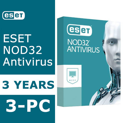 ESET NOD32 Antivirus 2020 Internet Security Instant Delivery 3 Years / 3-PC