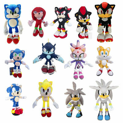Knuckles Tails Amy Rose Blaze The Cat Super Sonic Plush Doll Stuffed Toys Gift 16 99 Picclick