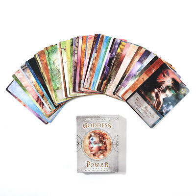 Goddess Power Oracle Tarot Cards Deck 52 Sheets Guidebook Game Card AU