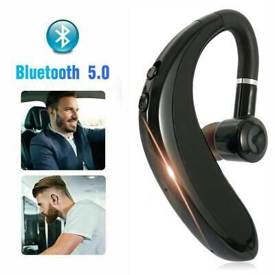 Wireless Bluetooth Headset Headphones Earpiece Android Mobile Phone Hands-free