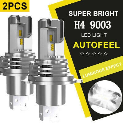 CREE H4 HB2 9003 2240W 336000LM 4-Sided LED Headlight Kit Hi/Lo Power Bulb 6000K