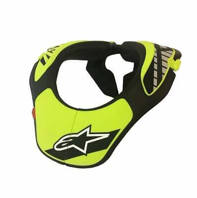 Alpinestars Youth Armures Neck Brace - Black Yellow Une Taille