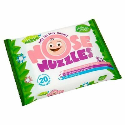 Kinder By Nature Nose Nuzzles Wipes 20  New
