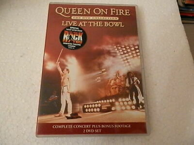 Queen-Live At The Bowl(The Dvd Collection) 2 Disc     Dvd