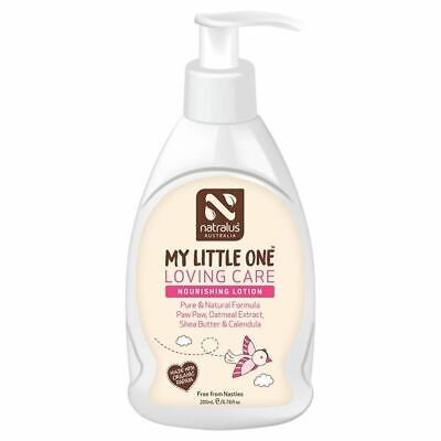 Natralus Australia My Little One Loving Care Nourishing Lotion 200ml New