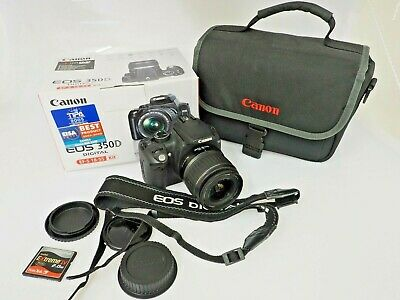 Canon EOS 350D Kit EFS 18-55mm