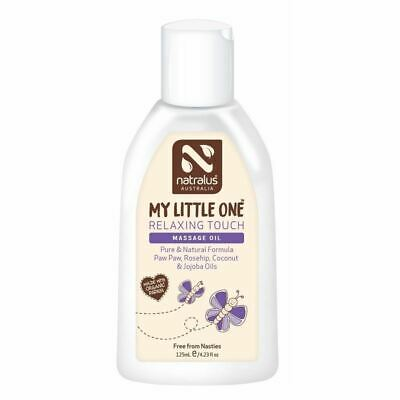 Natralus Australia My Little One Relaxing Touch Massage Oil 125ml New
