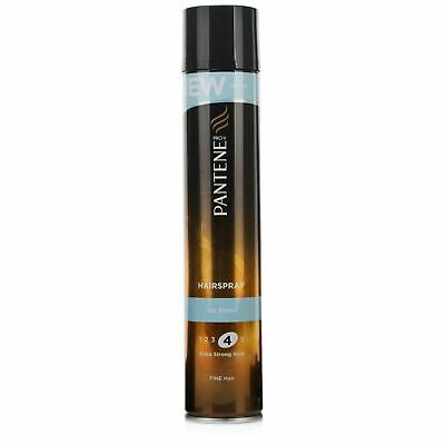 Pantene Ice Shine Extra Strong Hold Hairspray 300ml New
