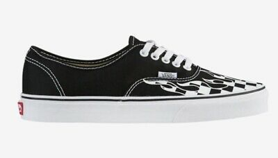 VANS OLD SKOOL Flame Cut Out Black White Size US 11 Men