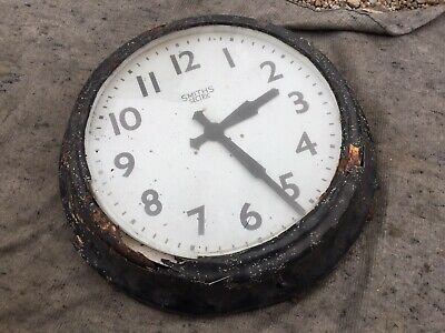 Large Smiths Secrric Outside Wall Clock Wakefield