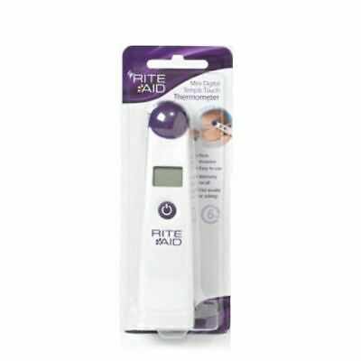 Rite Aid Mini Digital Temple Touch Thermometer New