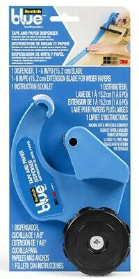 Scotch Blue Tape and Paper Dispenser Paper Blades Included M1000-SBN PACK OF 3