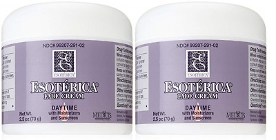 Esoterica Fade Cream Daytime, Moisturizers & Sunscreen 2.5 oz (2 Pack) (UNBOXED)