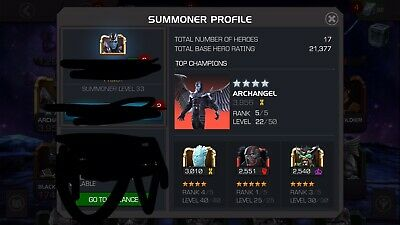 Gifted Starter Account Marvel Contest Of Champions MCOC Transferable Email