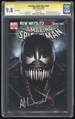 Amazing Spider-Man #569 Granov CGC SS 9.8 NM+/MT (Marvel 10/08) 1st Anti-Venom