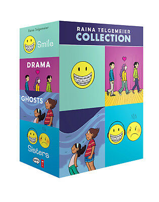 GUTS + Raina Telgemeier Collection  * FLAWLESS NEW * FACTORY SEALED