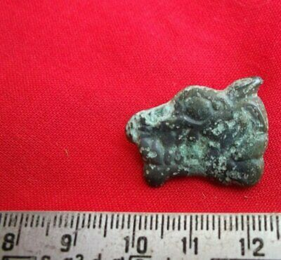 The Scythian animal style  Bronze Wolf  Metal detector finds 100%original