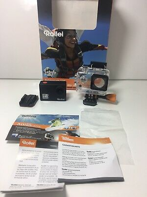 Rollei Actioncam 530 - WiFi Action Camcorder with 4k Video Resolution 30 fps, Im