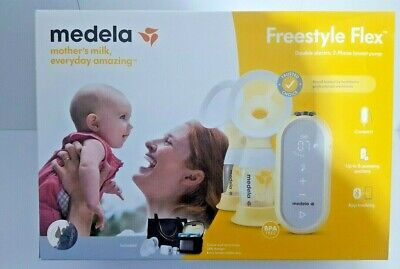 Medela Freestyle Flex Double electric 2-Phase Digital breast pump BNew in box