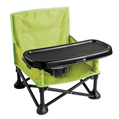 Summer Infant Pop 'N Sit Booster Seat Green