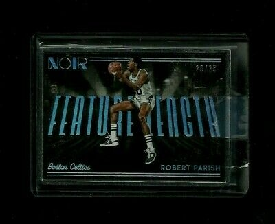 Robert Parish 2018-19 Noir FEATURE LENGTH Refractor #/25! Boston Celtics LEGEND!