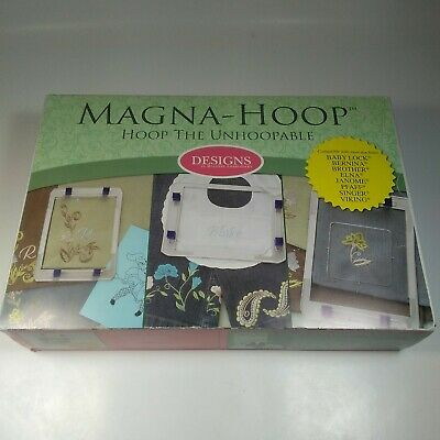 Magna-Hoop for Bernina, Oval Hoop 145x255mm, Embroidery Sewing Item#12-12