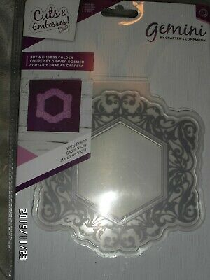Crafters Companion-Cut & Embossing Folders-Schablone-Rahmen