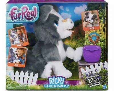 FurReal Ricky the Trick-Lovin Pup 100+ Sounds & Motion Combos New in Box Hasbro