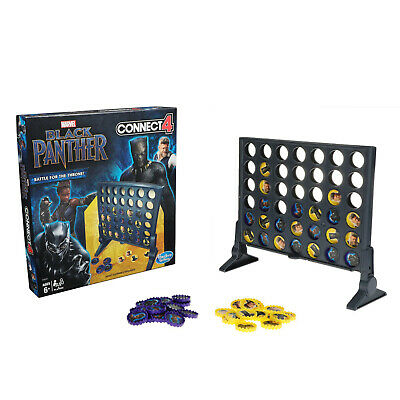 Connect 4 Game: Black Panther Edition Hasbro Gaming Brand New Ages 6+