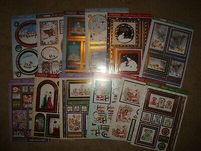 12 New Hundydory Adorable Scorable Toppers Xmas A4 Sheets