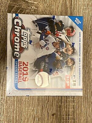 2019 Topps Chrome Update Mega Box Possible 1of1 Autograph Refractor Aaron Judge?
