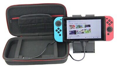 Hard Shell Carrying Storage Charging Battery Backup Case For Nintendo Switch