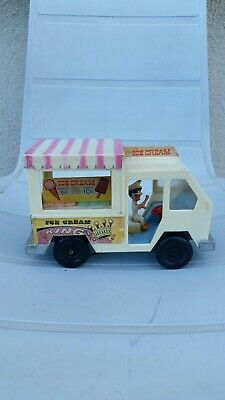VTG Ice Cream King Multiple Toy Makers Truck Van The Little Twins and Poochie