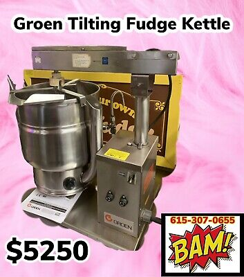 GROEN 20 Quarts or 5 Gallon Fudge Steam Jacketed Mixing KETTLE